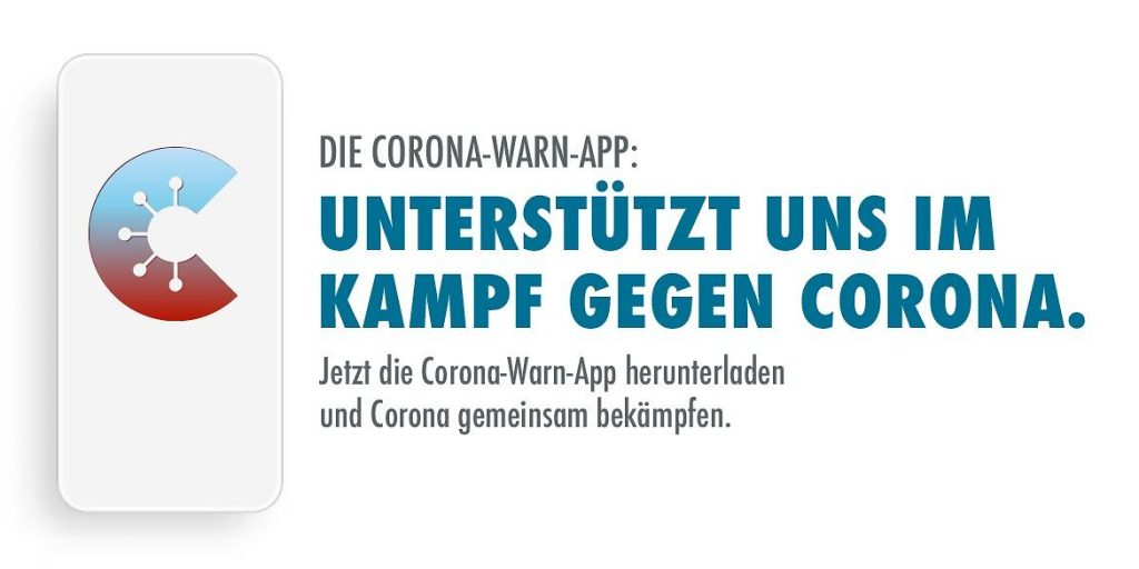 Corona-Warn-App Kampagnenmotiv