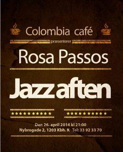 Plakat-Jazz aften