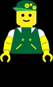 Legomand-nova Green
