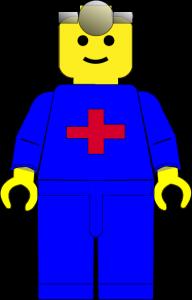 Legomand-nova læge