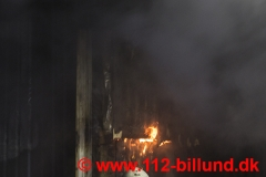 Brand i fyrrum - Frost Boligcenter Sdr.Omme 26.december 2017