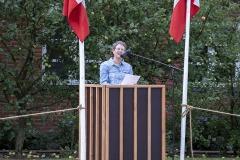 Anne Eriksen holdt tale - Foto: Anette Sofia Svejstrup