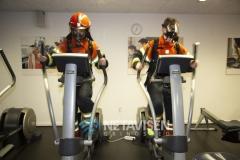 Brandmænd træner i Falck Healthcare i Billund - 28. marts 2019
