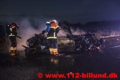 Færdselsuheld Rute 28 Grindstedvej mellem Billund og Løvlund 8. september 2017