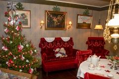 Der var pyntet pænt op til jul i stuehuset - Foto: Anette Sofia Svejstrup