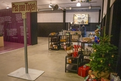 I udstillingsbygningen  - Spor af besættelsen - Foto: Anette Sofia Svejstrup