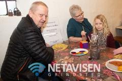 Mormor og Morfar var taget en tur på Karensminde med et barnebarn - Foto: René Lind Gammelmark