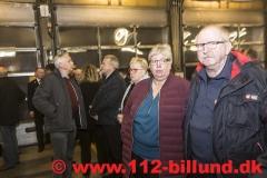 Nytårsparole på Falck Brandstationen i Grindsted den 29. december 2017