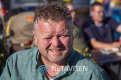 Jan Larsen med solen i øjnene - Foto: René Lind Gammelmark