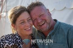Et glad campingpar - Gitte og Jan Larsen - Foto: René Lind Gammelmark