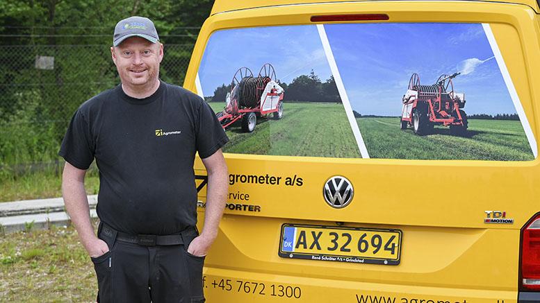 Michael Mortensen fejrer 15-års jubilæum hos Agrometer