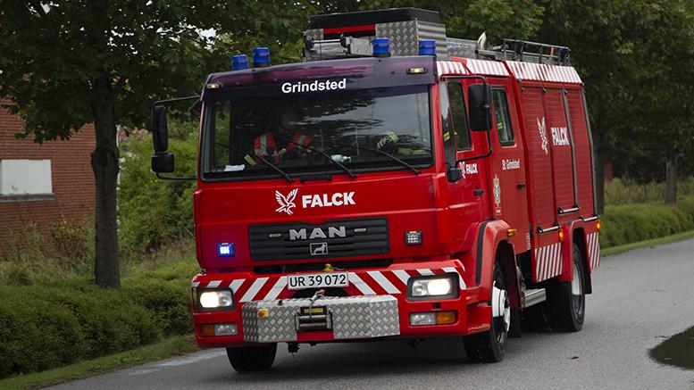 Brand i vaskemaskine i Stenderup-Krogager