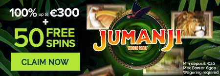 Jumanji netent review