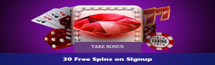 BetNspin Casino - 30 Free Spins No Deposit