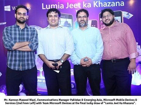 "Microsoft Concludes ""Lumia Jeet Ka Khazana"" Phase 2, Winners rejoice"