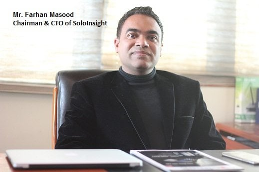 Exclusive Interview with Mr. Farhan Masood Chairman and CTO