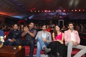 Huawei Brand Ambassadors with Vasay Choudary and Mr Fraz Khan