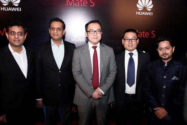 Mate S, Huawei's latest flagship smart phone, officially launched in Dubai
