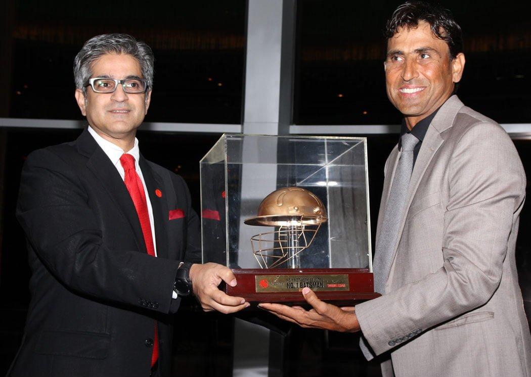 Mobilink Honors Pakistan's Number 1 Batsman Younus Khan