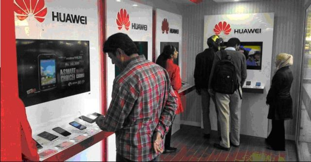 Huawei world leading technology opens another brand shop in Lahore