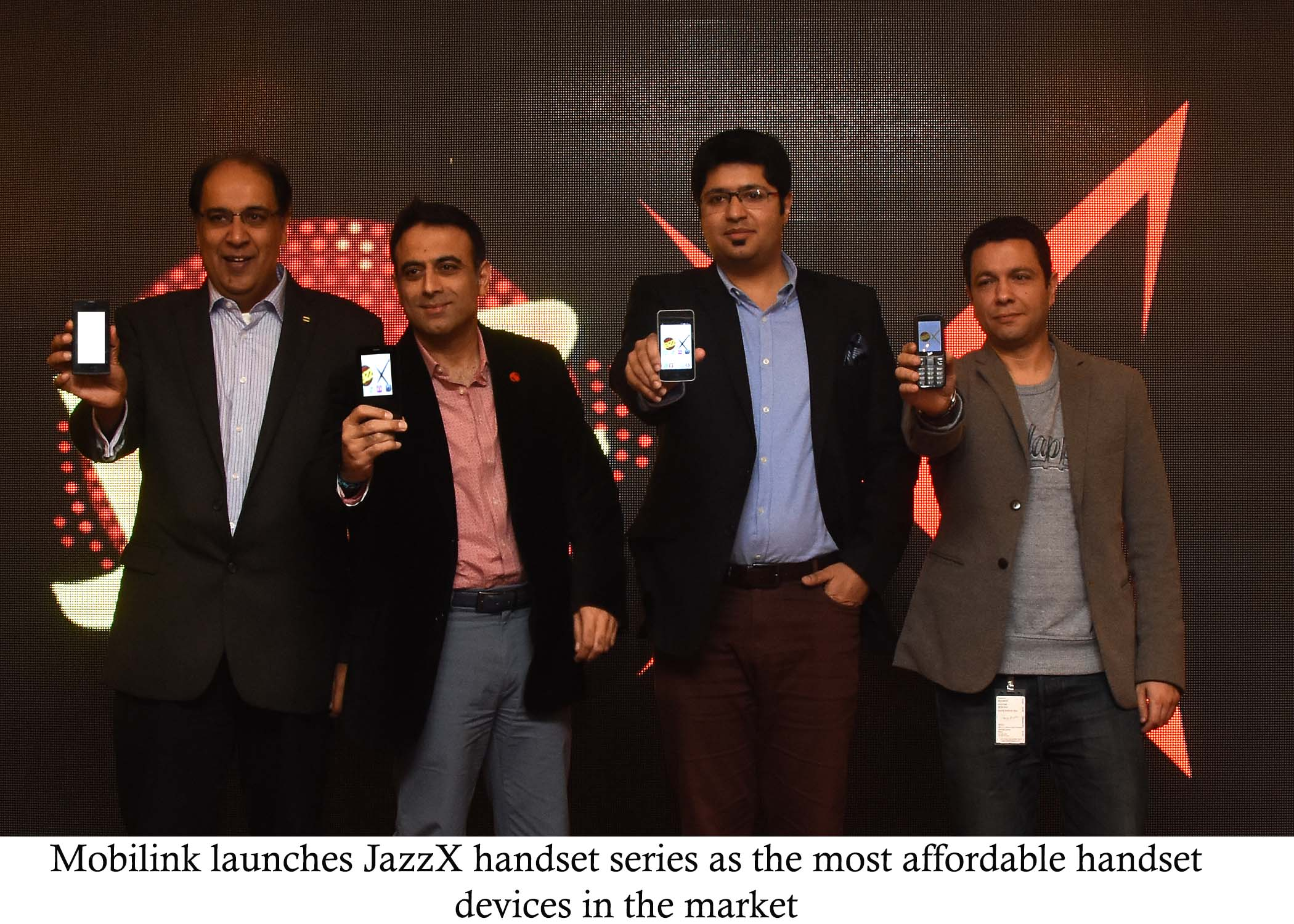 Mobilink Launches Jazz X- The Most Affordable 3G Enabled Cell Phones