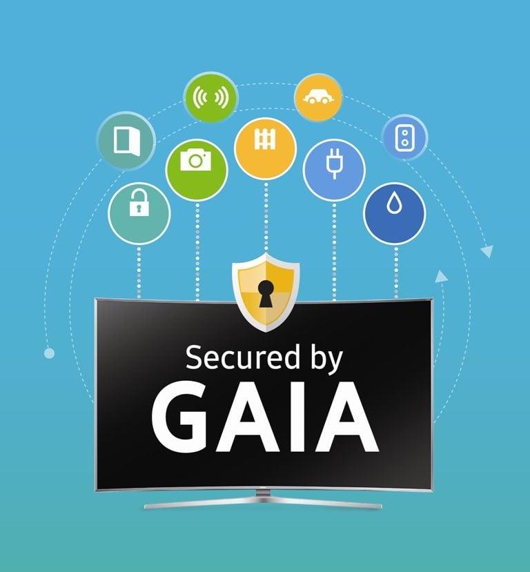 Samsung Electronics announces GAIA Powerful Smart TV Security