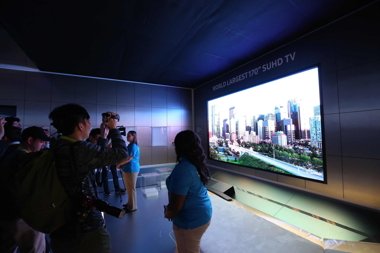 Samsung Electronics Unveils Concept of TV's Future at CES 2016