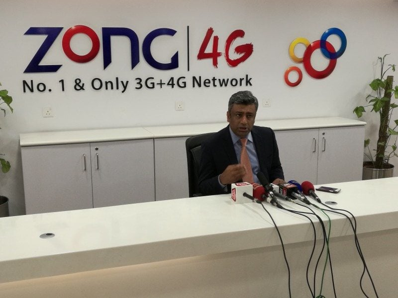 Zong to invest $300 million in network expansion CEO Zong