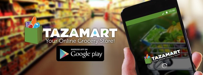 TazaMart launches Pakistan's first Android App for Online Grocery