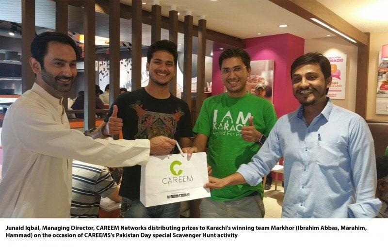 CAREEM Celebrates Spirit of Pakistan Day through a Scavenger