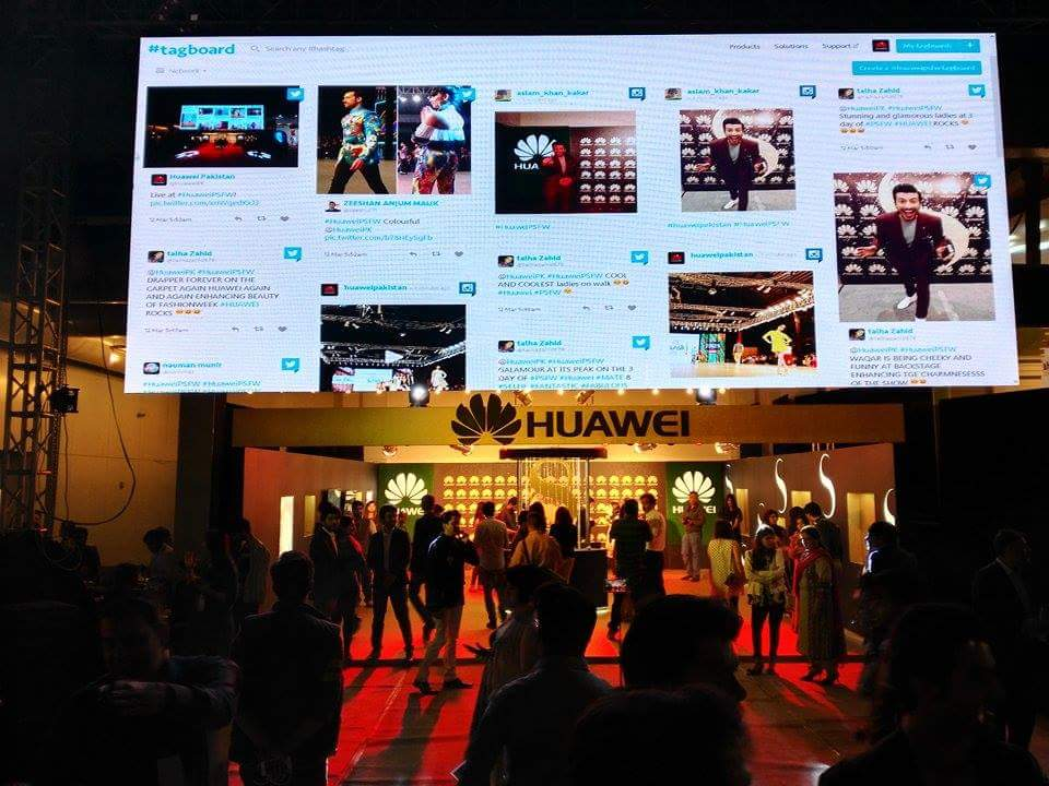 Huawei's Glamorous Models Steal Limelight At Sunsilk PFDC