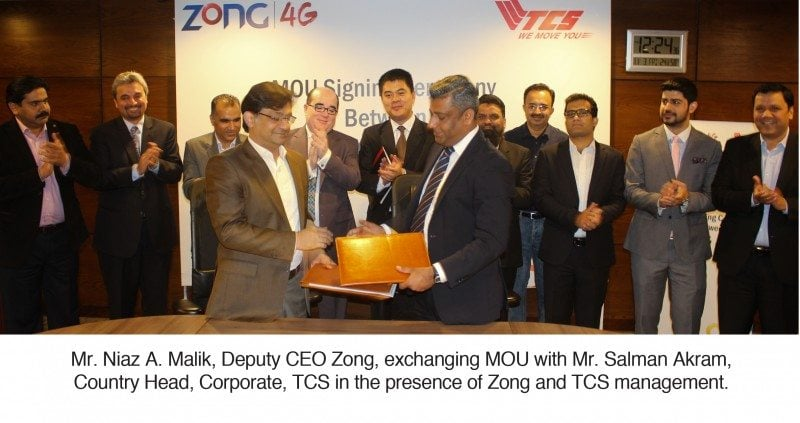 Zong MBB Devices Available at all TCS Express Centers Across Pakistan