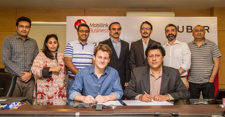 Mobilink Enters into Partnership with Uber Pakistan