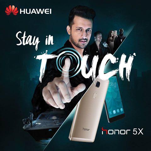 Huawei Appoints Atif Aslam as Brand Ambassador