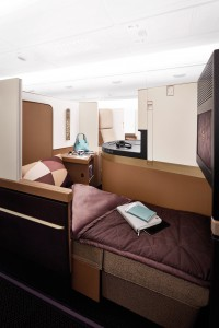 Etihad Airways' Business Studio on Airbus A380s