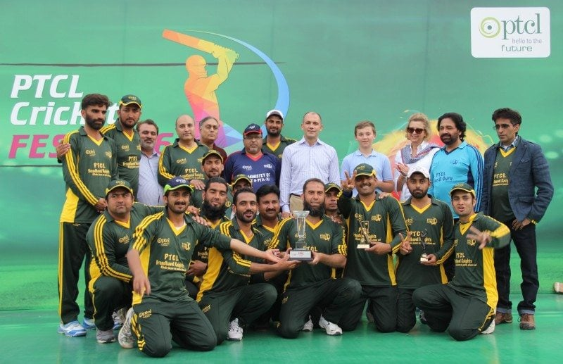 PTCL organizes Cricket Tournament Cricket Festival at Islamabad's