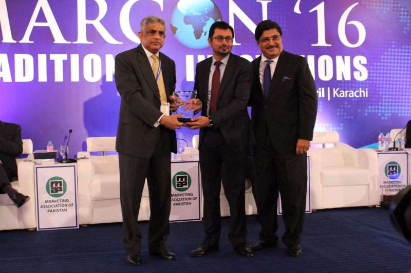 """CEO HAIER MOBILE Mr.Zeeshan Qureshi gets awarded """"EXCELLENCE"""""""