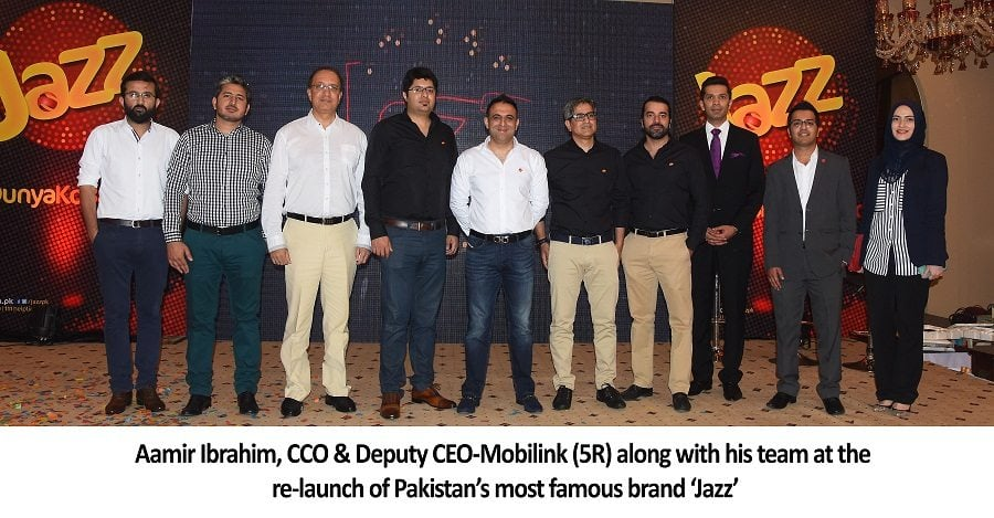 Mobilink Re-launches Jazz as it Looks to Spearhead a Digital Revolution