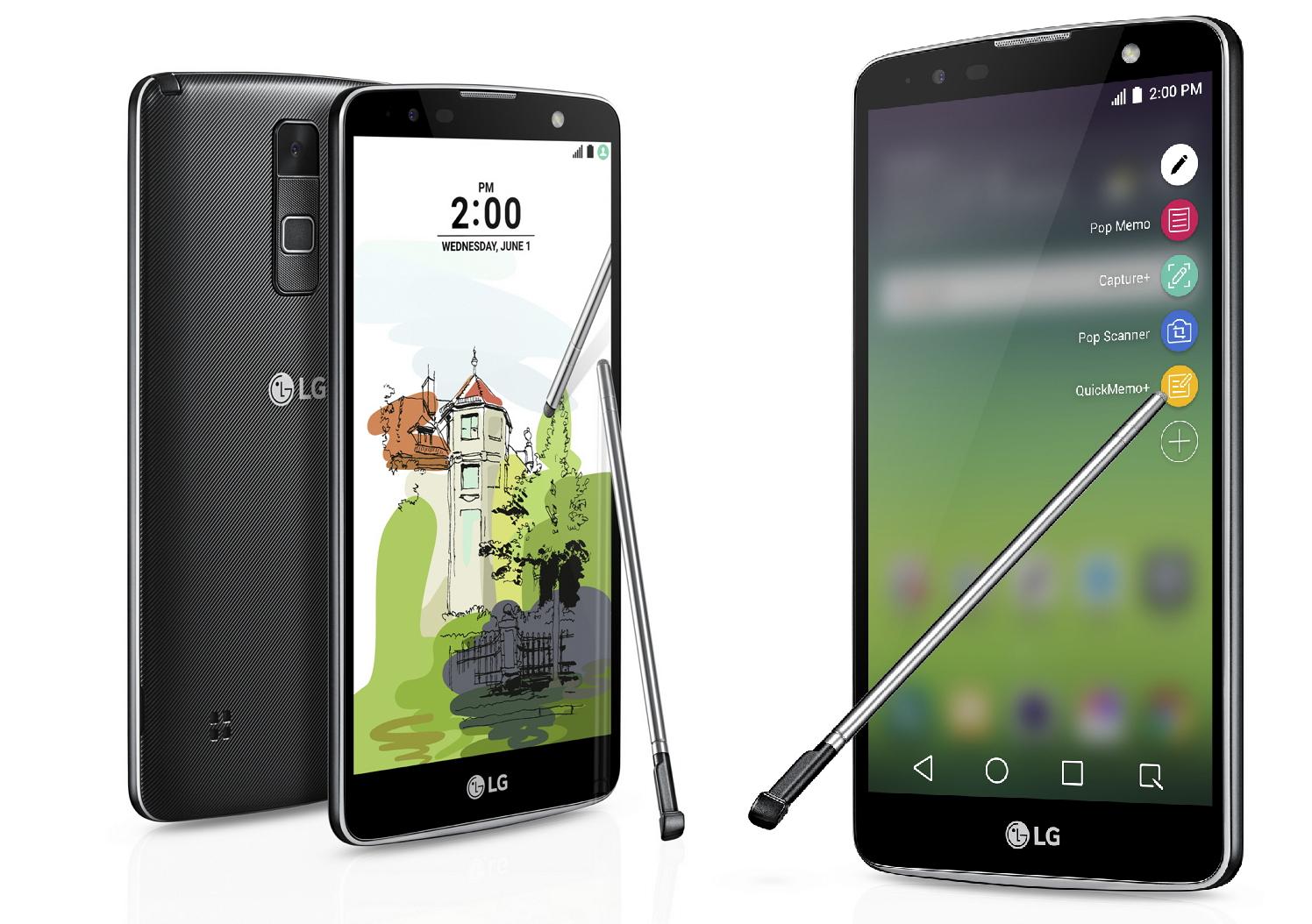 LG Stylus 02 Plus