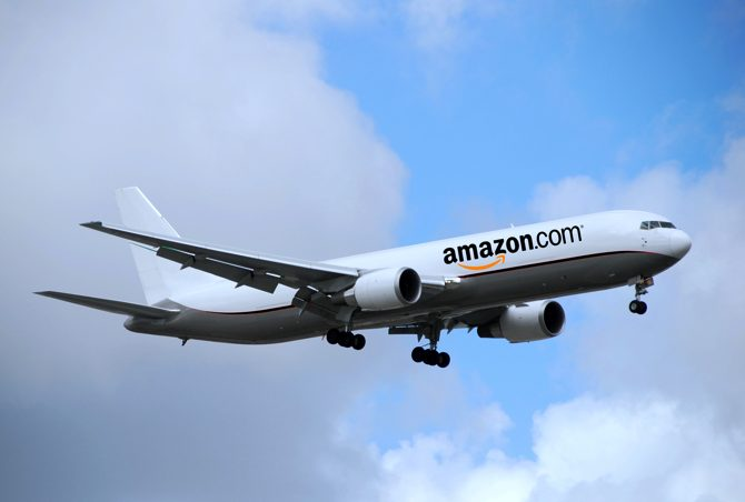 Amazon Launches It's Air Cargo Service