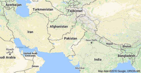 Some of Pakistani Territory marked as India's on Google Maps