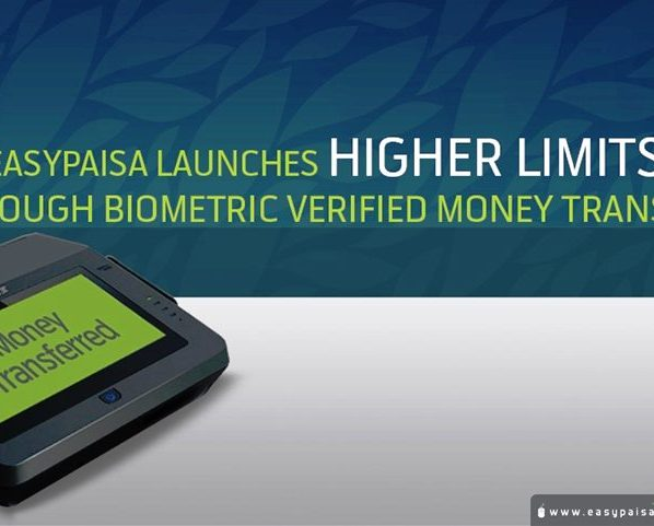 Easypaisa Launches Biometric Verified Money Transfer