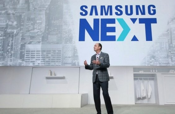 Samsung next would be its funding arm