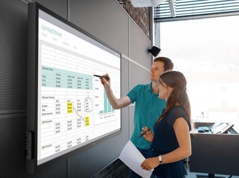 Dell introduces 86-inch touchscreen monitors in cheaper rates