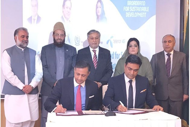 Telenor Pakistan has been awarded the Universal Services Fund (USF) contract for the provision of Telecom, Digital and Mobile Internet Services to the Kohistan region.