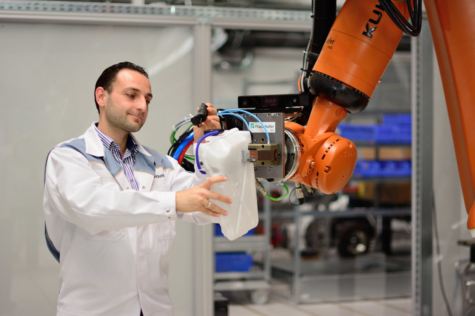 In many places where there are robots operating, they are under two zones: a safe zone and an unsafe zone. Robots can move quickly