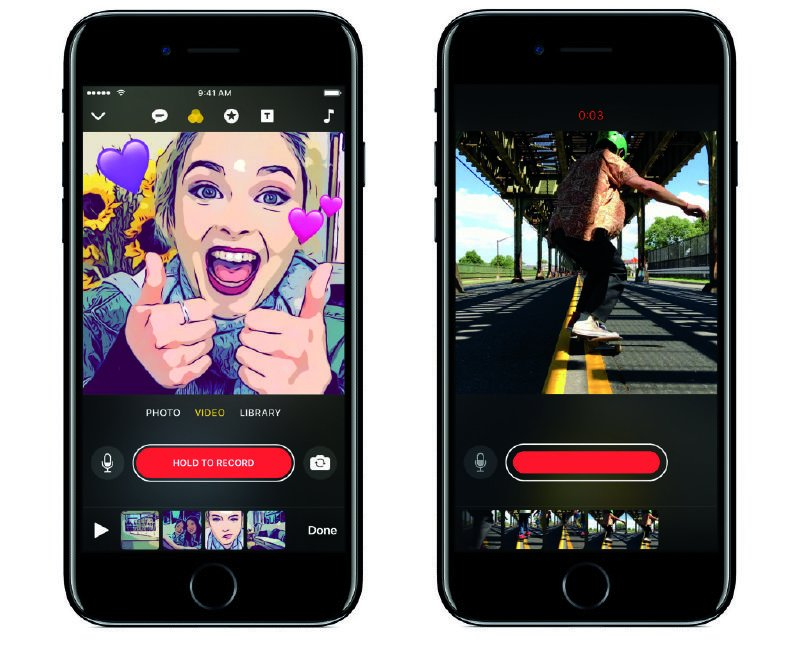 This could prove to be a whole different ball game and could change how you upload videos to Snapchat and Instagram. This could prove to be a whole