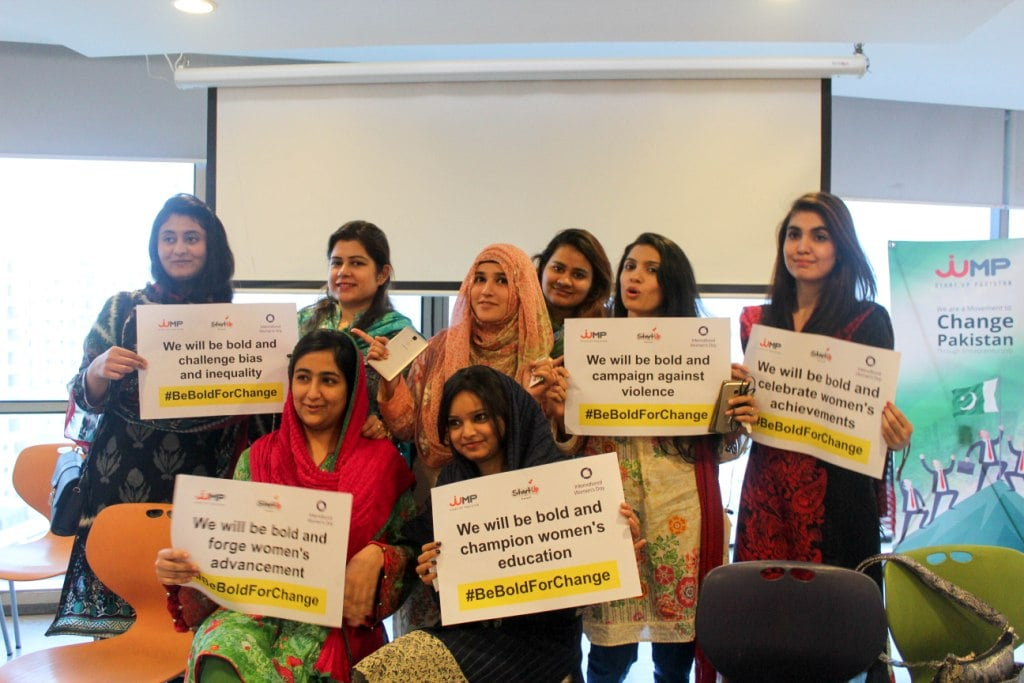 With the objective to create a more gender inclusive world, Jumpstart Pakistan has always facilitated Women Entrepreneurs in becoming responsible leaders.