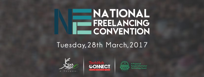 Pakistan's first freelancing convention will be held on March 28, 2017. The convention is being organized by Punjab Information Technology Board