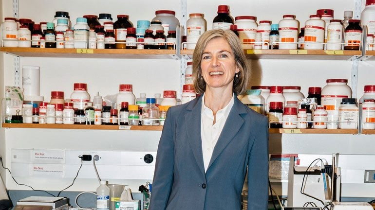 Jennifer Doudna is the co-inventor of CRISPR Cas9 technology, the technology which provides the ability to program genes using a special enzyme.
